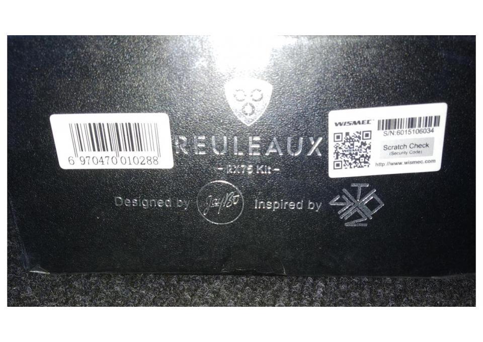 WISMEC Reuleaux RX75 TC - боксмод