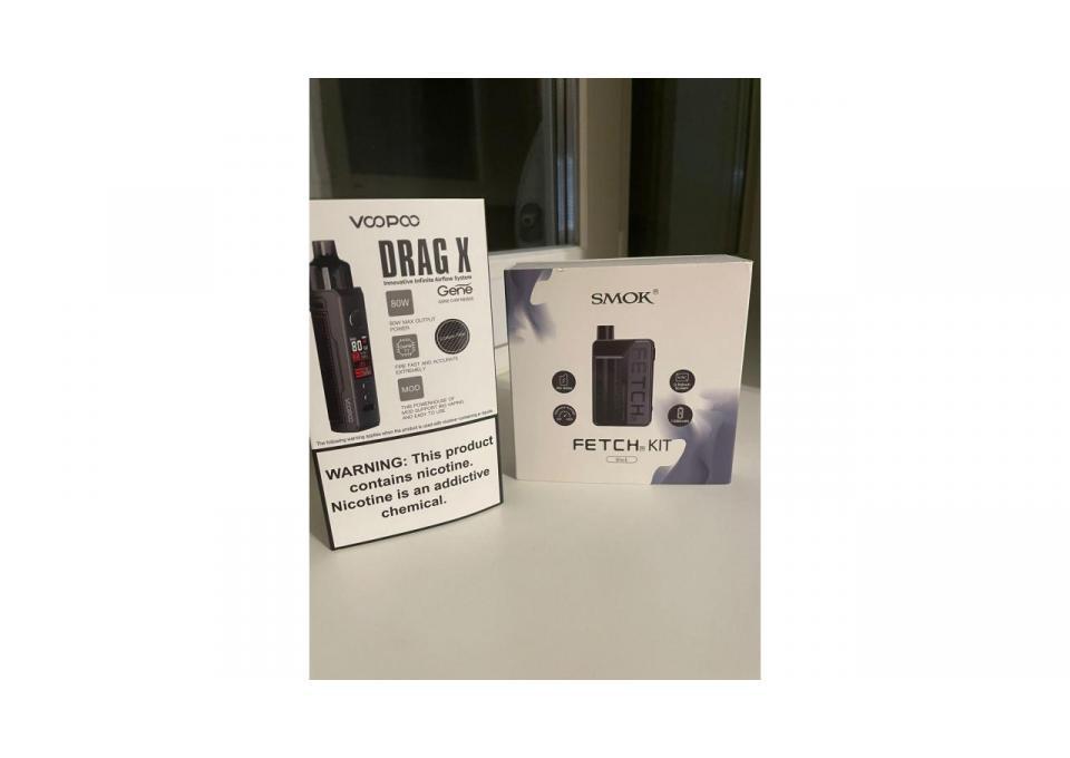 Vopoo drag X 80w и Smok fetch kit