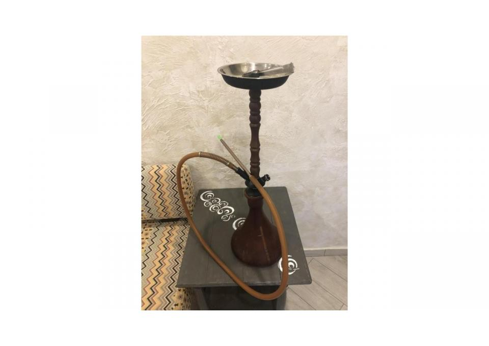 Кальян s-ros 14 brown 75 см+ 3 чаши+колодка+ табаки и угли